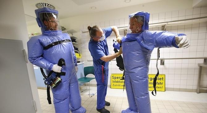 Съмнения за заразен с китайския коронавирус в Румъния