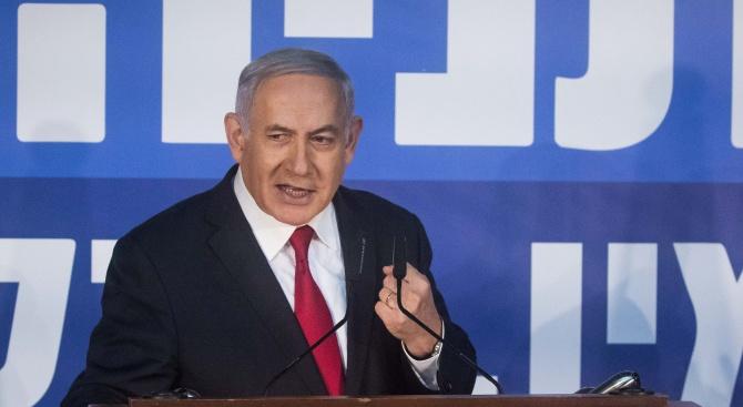 Обвинителният акт срещу Нетаняху е внесен в съда