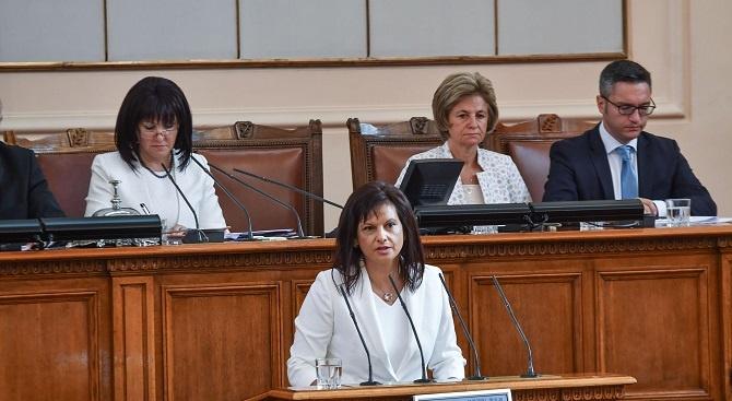 Дариткова за неуспешния вот на недоверие: Кой ще понесе отговорността в БСП?