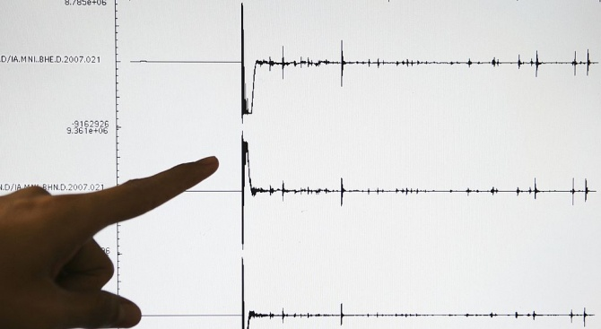 Земетресение в Северна Корея, вероятно като последица от ядрени опити