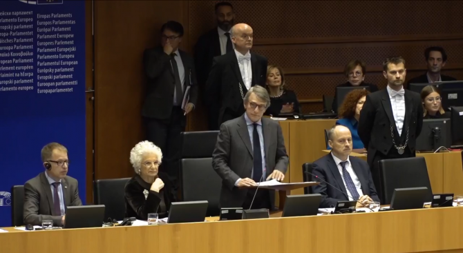 Евродепутатите отбелязаха 75-тата годишнина от освобождаването на Аушвиц