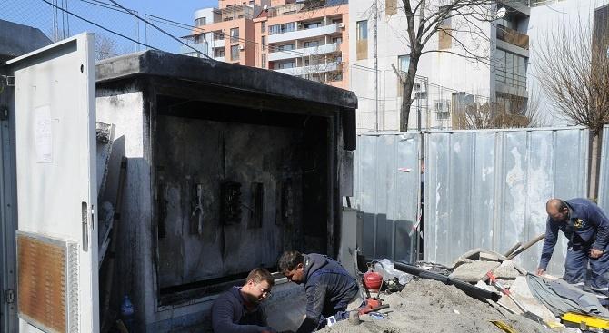 Трафопост гръмна в Пловдив, има пострадал