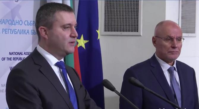 Внасяме проект на решение, с който даваме гаранции, че България