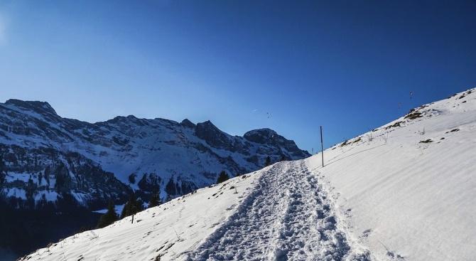 ПСС: Повишена е опасността от лавини в планините