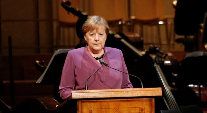 Германският канцлер Ангела МеркелАнгела Меркел - германски политик, канцлер на