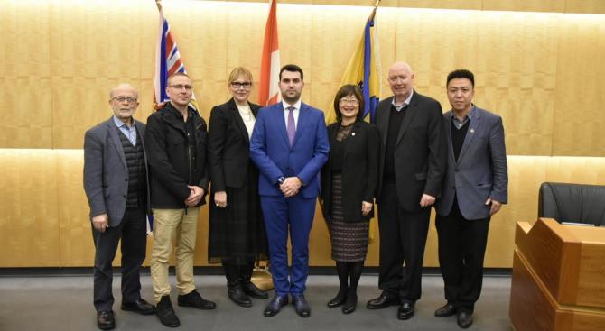 В рамките на посещението си в Канада заместник-министърът на външните