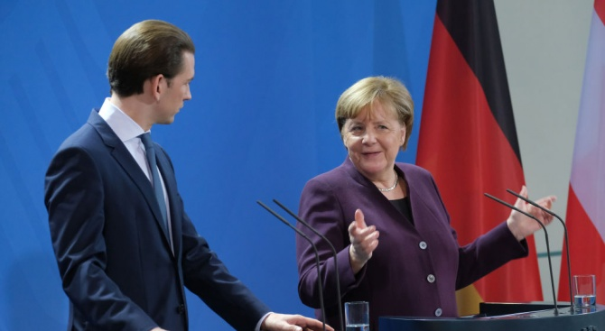 Германският канцлер Ангела Меркел заяви днес, че ако е необходимо,