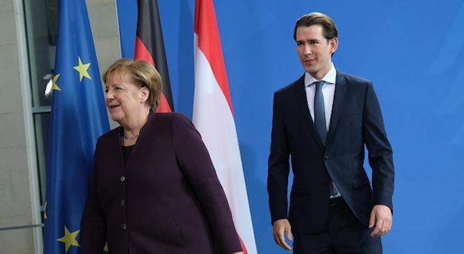 Канцлерите на Германия и Австрия оспориха бюджетната рамка на ЕС за 2021-2027 г.
