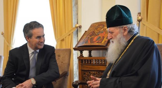 Негово Светейшество Българският патриарх НеофитНеофит I е висш български православен
