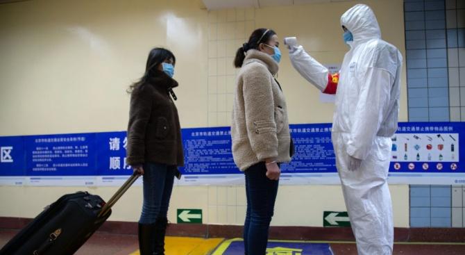 Броят на болните в Китай от пневмония, предизвикана от новия