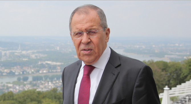Руският външен министър Сергей ЛавровСергей Викторович Лавров еруски дипломат, като