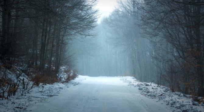 Заради обилен снеговалеж временно се ограничава движението на МПС над 12 тона между Гоце Делчев и Доспат