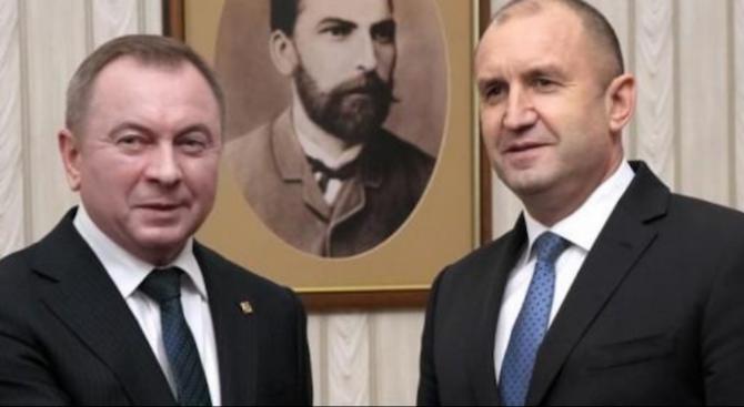 България ще работи за още по-тясно партньорство с Беларус в
