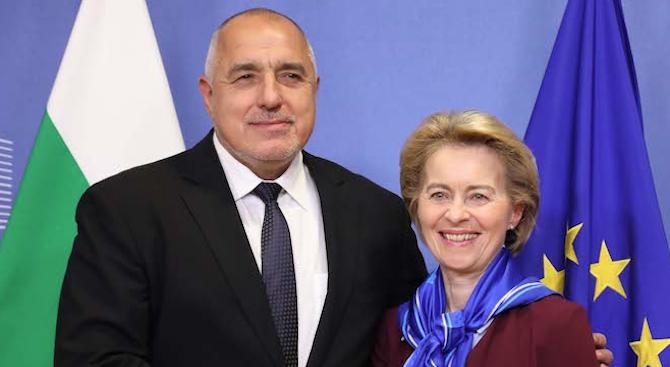 Борисов към Урсула фон дер Лайен: Преходът ни към климатична неутралност ще изисква по-значителни ресурси