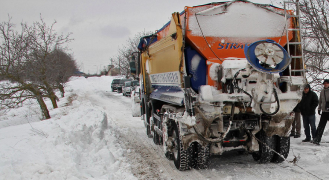 Затворени за движение за всички МПС - заради обилен снеговалеж