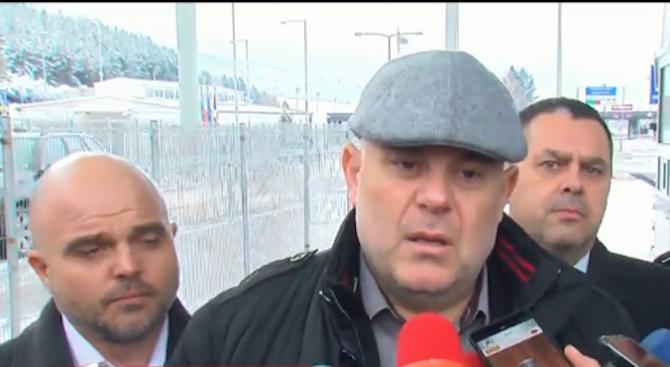 """Иван Гешев за акцията на """"Калотина"""": Има много задържани, между тях е и началникът на митническия пункт"""