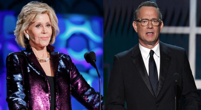 """Джейн Фонда и Том Ханкс ще връчват награди """"Оскар"""""""
