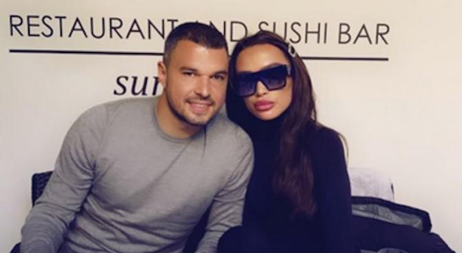 Биляна спипала Валери Божинов на калъп с 18-годишна