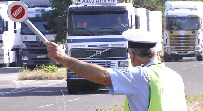 197 проверки на товарни автомобили са извършени вчера от екипите