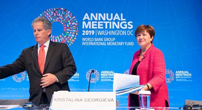 Кристалина Георгиева сменя първия заместник-директор на МВФ