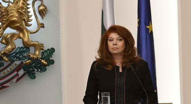 Илияна Йотова: Не е време институциите да се самоизяждат