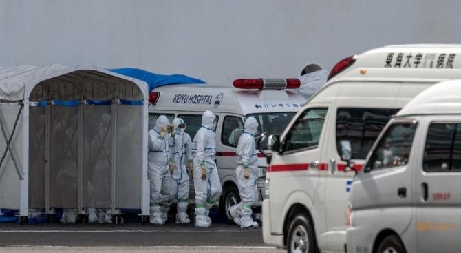 Първият японец, който се зарази от коронавирус на територията на