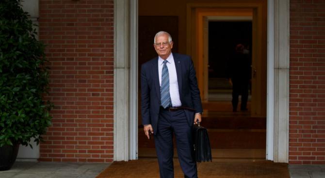 Дипломат номер едно на ЕС Жозеп Борел се извини днес