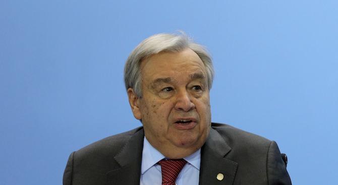 Генералният секретар на ООН: Има връзка между климатичните промени и нашествието на скакалци в Източна Африка