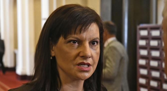 Дариткова: Войната между институциите не я започнахме ние