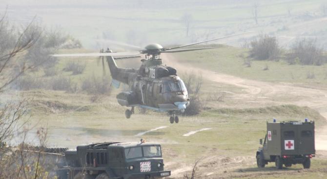 Военнослужещи от Сухопътните войски ще вземат участие в съвместни българо-американски