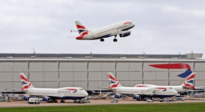 Самолет взе разстоянието Ню Йорк - Лондон за 4 часа и 56 минути, заради мощен попътен вятър