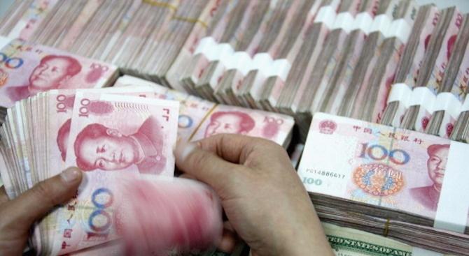 Народната банка на Китай (PBoC) инжектира допълнително 900 милиарда юана