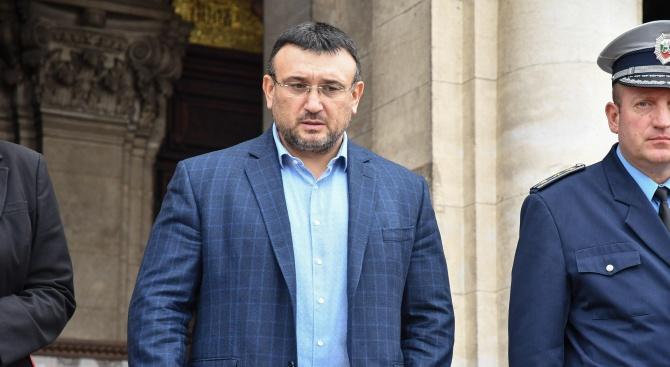Вътрешният министър Младен МариновМладен Маринов е роден на 21 ноември