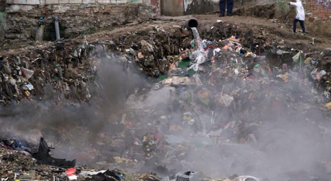 По сигнали за горене на отпадъци в частни имоти за