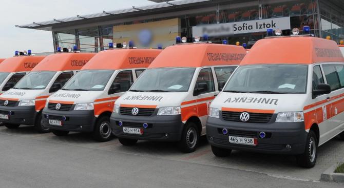 162 са новите линейки в центровете за спешна медицинска помощ