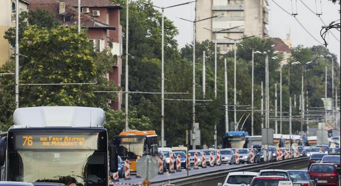 Събития променят движението в София