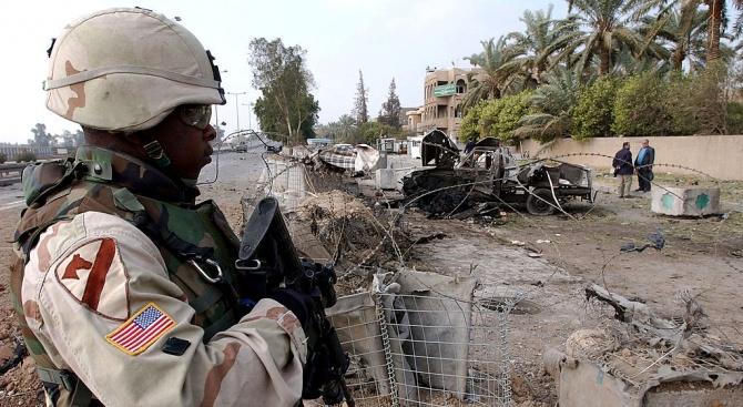 Ракети удариха американска база в Северен Ирак