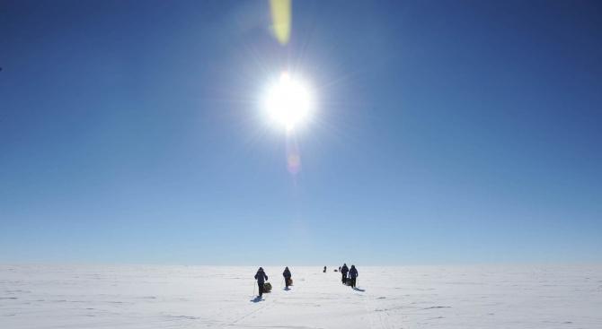 В Антарктида е регистрирана рекордна температура