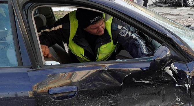 Жестока катастрофа край Борован, мъж загина на място
