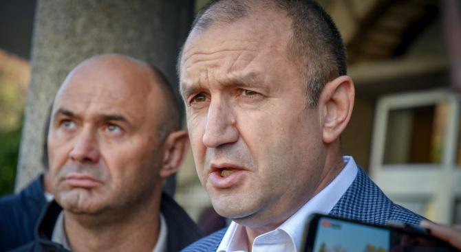 Президентът Радев за Борисов и Гешев: Зададох им ясни въпроси, чакам отговор
