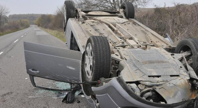 Катастрофа на пътя Русе – Велико Търново: Един човек е ранен