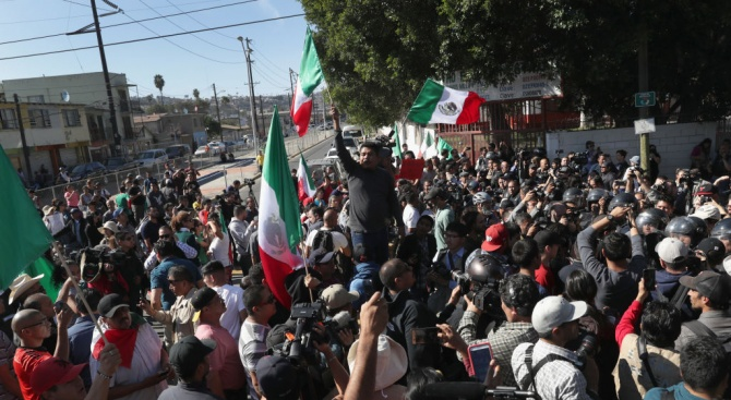 Мексиканци излязоха на протест след поредното убийство на жена в страната
