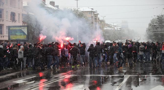 Столичната полиция е на крак заради дербито между ''Левски'' и ЦСКА