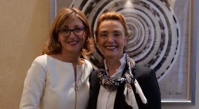 Екатерина Захариева се срещна с генералния секретар на Съвета на Европа