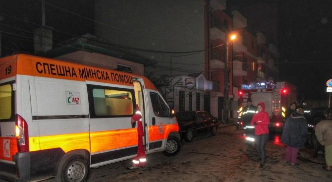 Експлозия на газова бутилка разтърси цял квартал в Русе