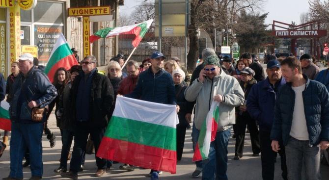 Жители на Силистра протестираха срещу нашествията от тирове