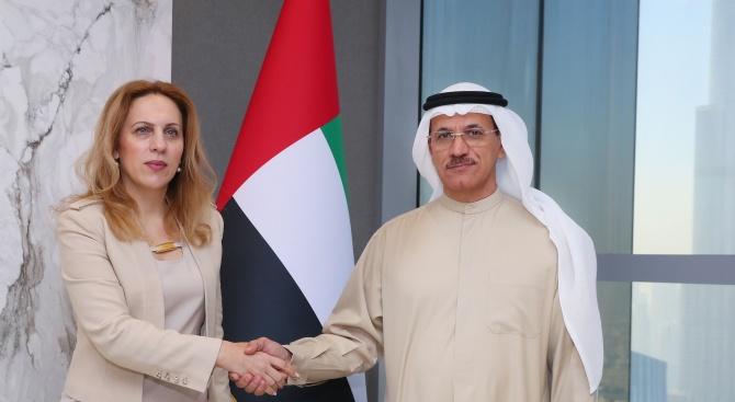 Министър Марияна Николова: ОАЕ са важен и перспективен партньор на България