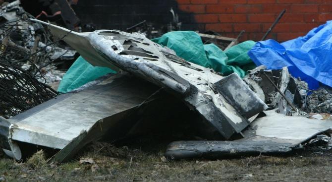 Самолет падна във Франция. Никой не оцеля