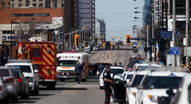 Стрелба в центъра на Торонто