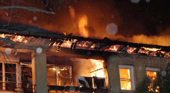 Коли и заведение изгоряха при голям пожар в Асеновград